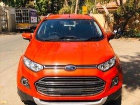 Used Ford EcoSport 1.5 DV5 MT Titanium 2014 for sale in Bangalore