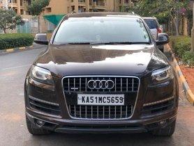Audi Q7 4.2 TDI quattro  MT 2012 in Bangalore