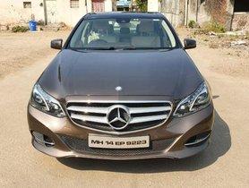 Mercedes Benz E-Class 2009-2013 E250 CDI Elegance 2014 AT for sale in Pune