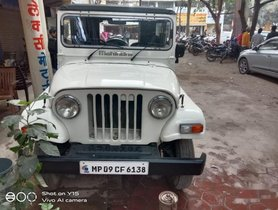 Used Mahindra Thar MT car at low price in Indore