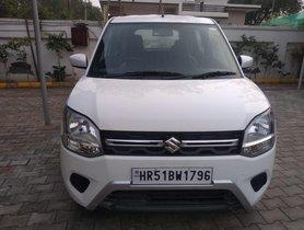 Used Maruti Suzuki Wagon R VXI MT car at low price in Faridabad - Haryana