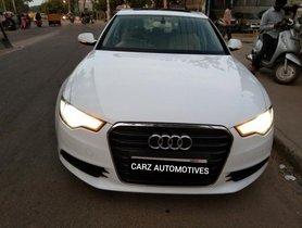 Used Audi A6 AT 2011-2015 car at low price in Bangalore