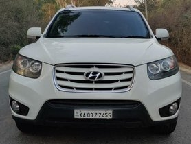 Used Hyundai Santa Fe 4X4 2011 MT for sale in Bangalore