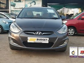 Used Hyundai Verna Version 1.6 SX VTVT MT car at low price in Pune