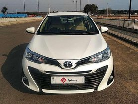 Used Toyota Yaris 2018 AT for sale in Noida