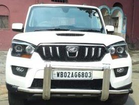 Mahindra Scorpio S10 8 Seater 2015 MT for sale in Kolkata