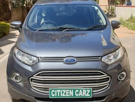 Used Ford EcoSport 1.5 Ti VCT MT Trend car at low price in Bangalore