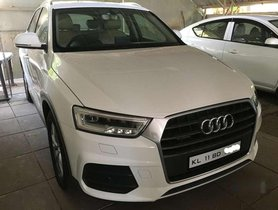 Audi Q3 3.5 TDI Quattro Technology(with Navigation), 2015, Diesel AT for sale in Kozhikode
