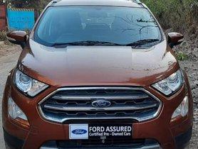 Used Ford EcoSport 1.5 Petrol Titanium MT 2017 in Thane