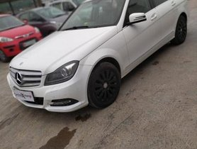 Used Mercedes Benz C-Class 220 CDI AT car at low price in Pune