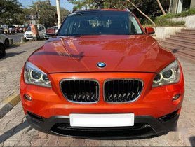 BMW X1 sDrive20d xLine, 2015, Diesel AT for sale in Pune