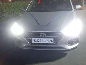Used 2017 Hyundai Verna MT for sale in Ahmedabad