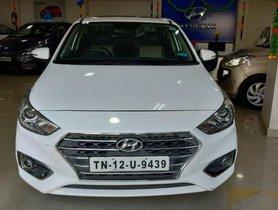 2017 Hyundai Verna VTVT 1.6 AT SX Option for sale at low price in Chennai