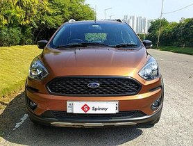 2018 Ford Freestyle Titanium Plus Petrol MT for sale in Hyderabad