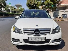 2013 Mercedes Benz C-Class C 220 CDI BE Avantgare AT for sale at low price in Ahmedabad