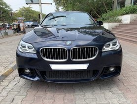 BMW 5 Series 2013-2017 530d M Sport AT for sale in Pune
