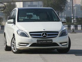 Used 2013 Mercedes Benz B Class AT for sale in New Delhi