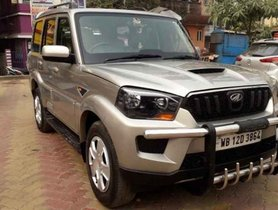 Mahindra Scorpio S6 Plus 8 Seater 2015 MT for sale in Kolkata
