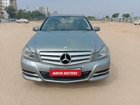 2013 Mercedes Benz C-Class 220 CDI AT for sale at low price in Ahmedabad