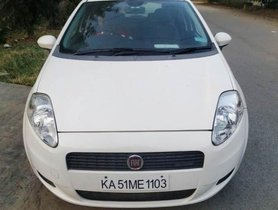 Fiat Punto Version 1.3 Active MT 2013 in Bangalore