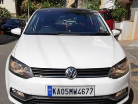 2017 Volkswagen Polo 1.5 TDI Highline Plus MT for sale at low price in Bangalore