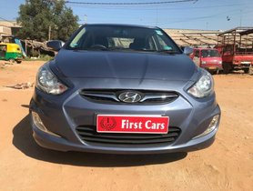 2014 Hyundai Verna 1.6 SX MT for sale at low price in Bangalore