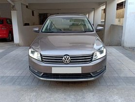 Used Volkswagen Passat Diesel Comfortline AT car at low price in Hyderabad
