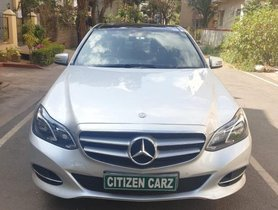 Used Mercedes Benz E-Class 2009-2013 E 220 CDI Avantgarde AT 2015 in Bangalore