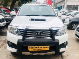 Used 2014 Toyota Fortuner AT for sale in Chandigarh