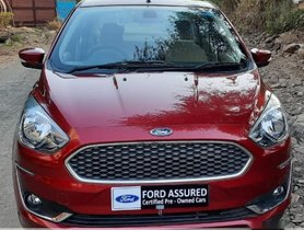 2018 Ford Aspire Version 1.2 Ti-VCT Titanium Plus MT for sale in Thane