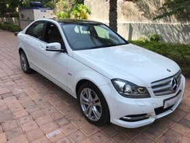 Used Mercedes Benz C-Class C 220 CDI BE Avantgare AT 2012 in Chennai