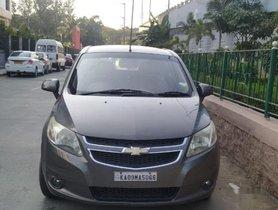 Used Chevrolet Sail 1.2 LS MT car at low price in Bangalore