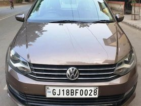 2016 Volkswagen Vento 1.5 TDI Comfortline AT for sale at low price in Ahmedabad