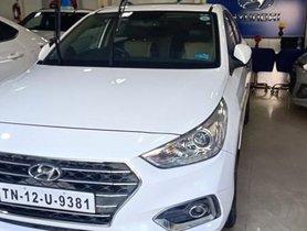 Used 2017 Hyundai Verna 1.6 CRDI SX Option MT for sale in Chennai
