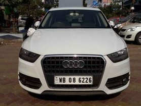 Used 2014 Audi Q3 MT 2012-2015 for sale in Kolkata