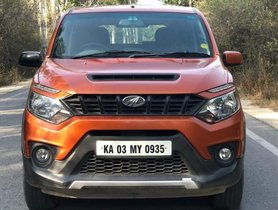 Used Mahindra NuvoSport N8 AMT AT car at low price in Bangalore