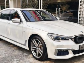 Used BMW 7 Series 730Ld AT 2016 in Gurgaon