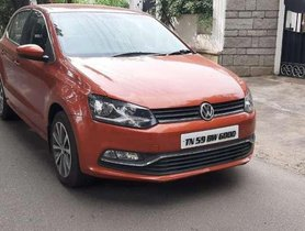 Volkswagen Polo Highline Diesel, 2015, Diesel MT for sale in Coimbatore