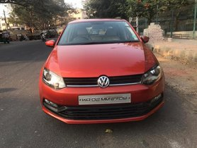 Used Volkswagen Polo Diesel Comfortline 1.2L MT car at low price in Bangalore