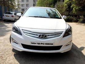 Hyundai Verna 1.6 CRDi SX MT 2017 in Pune