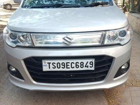 Used Maruti Suzuki Wagon R Stingray MT car at low price in Hyderabad