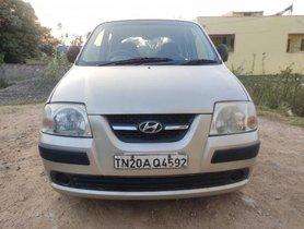 Used Hyundai Santro Xing XG MT car at low price in Chennai
