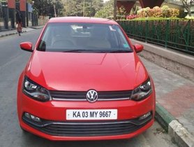 2016 Volkswagen Polo 1.2 MPI Highline MT for sale at low price in Bangalore