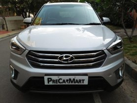 2016 Hyundai Creta 1.6 VTVT SX Plus Dual Tone MT for sale at low price in Bangalore