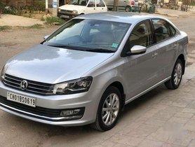Used 2018 Volkswagen Vento AT for sale in Ludhiana