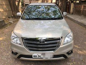 Used 2014 Toyota Innova 2.5 VX 8 STR MT for sale in Mumbai