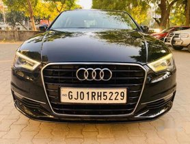 Used Audi A3 35 TDI Premium Plus + Sunroof, 2014, Diesel AT for sale in Ahmedabad