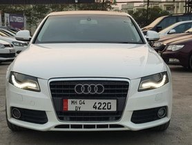 2009 Audi A4 2.0 TDI Multitronic AT for sale at low price in Pune