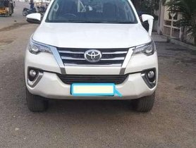 Used 2017 Toyota Fortuner 4x2 Manual MT for sale in Hyderabad