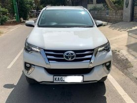Used Toyota Fortuner 4x2 AT 2017 in Bangalore